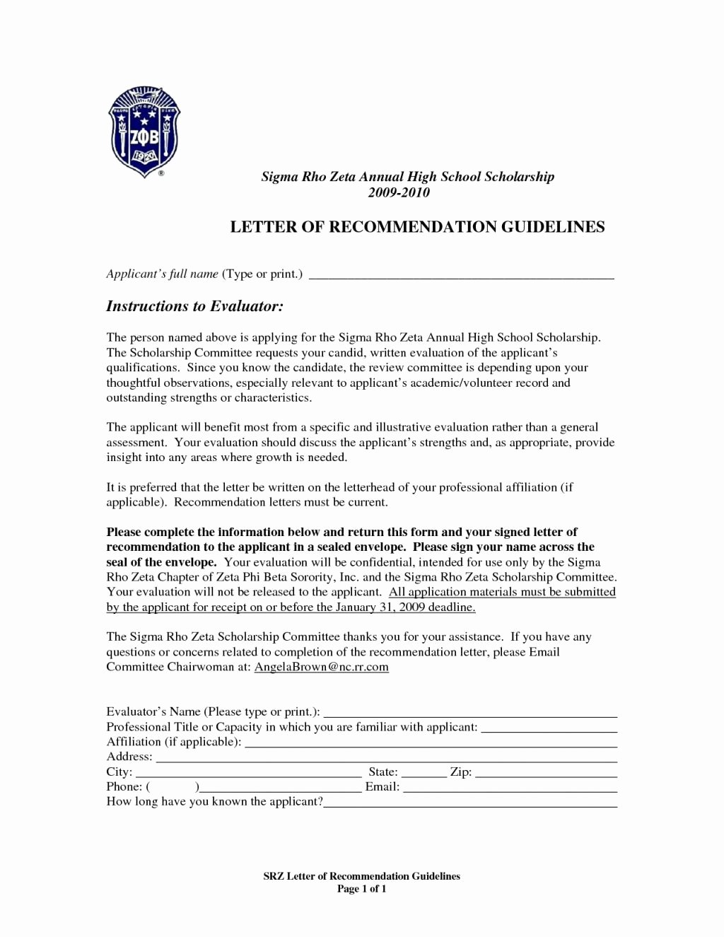 Lsac Letter Of Recommendation form Luxury Letter Re Mendation form Lsac Tripevent