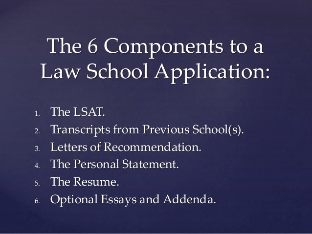 Lsac Letter Of Recommendation Sample Beautiful A Guide to Applying to Law School Powerpointral Cavner