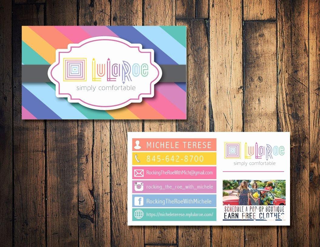 Lularoe Business Plan Template Awesome Lularoe Business Card Lularoe Calling Card Lularoe