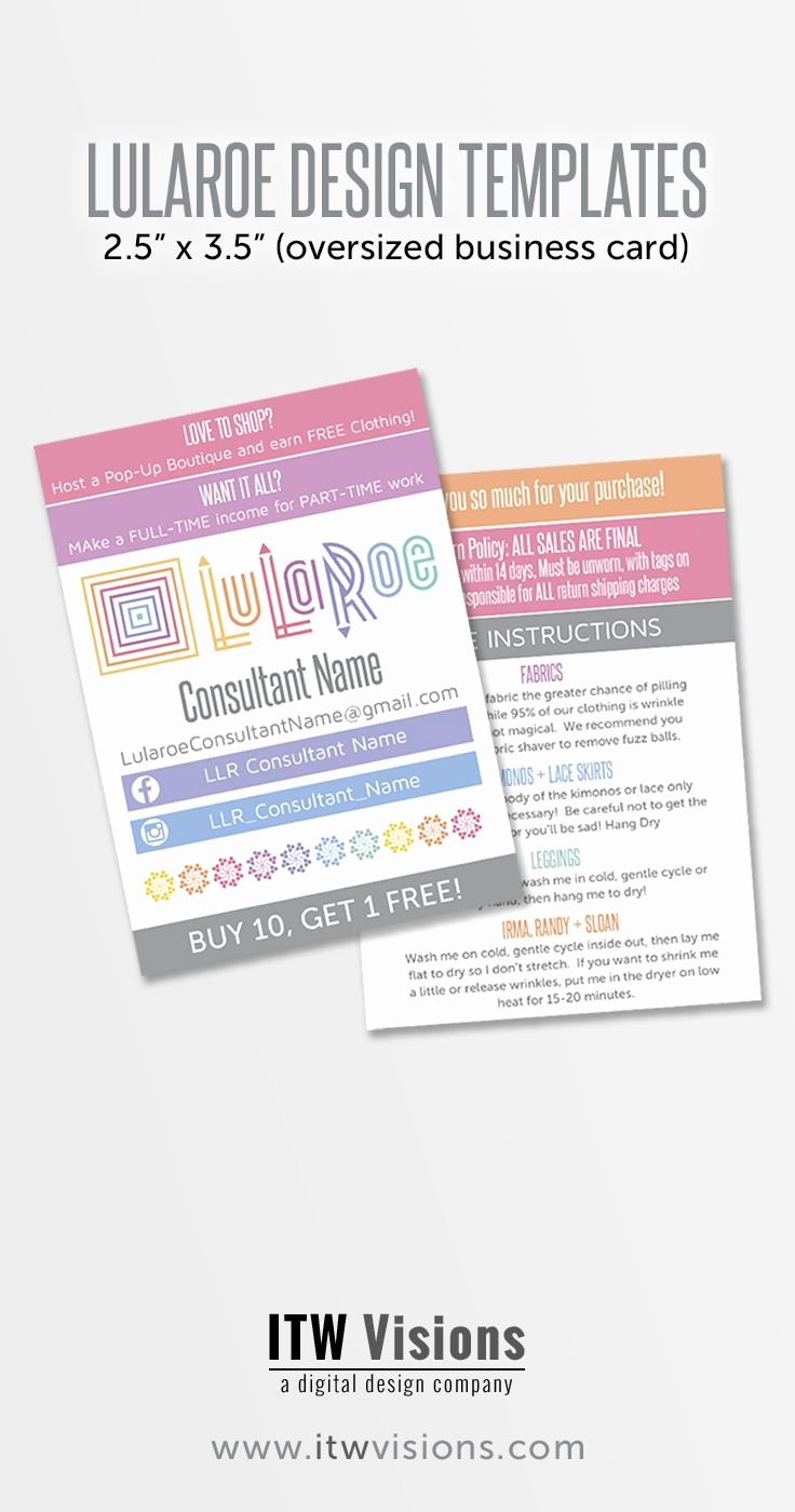 Lularoe Business Plan Template Awesome the 25 Best Lularoe Business Cards Ideas On Pinterest