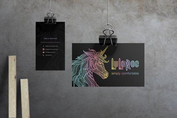 Lularoe Business Plan Template Elegant Lularoe Business Card Template No 1 Business Card