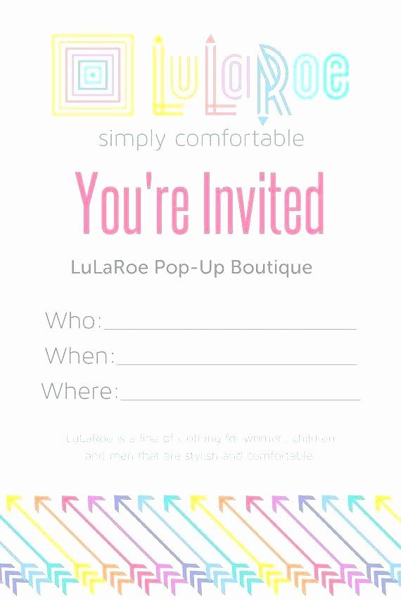 Lularoe Business Plan Template Inspirational Lularoe Pop Up Party Flyer Template 310 Best Lularoe