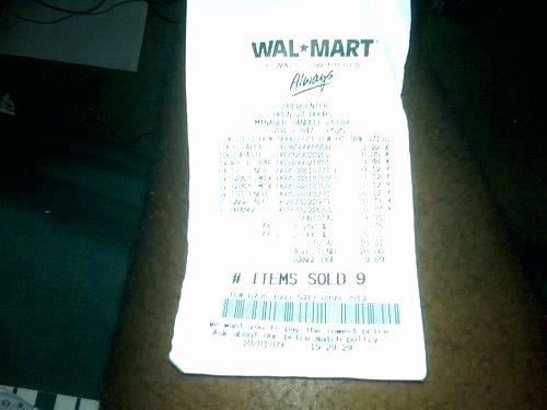 Make Fake Walmart Receipt Elegant Walmart Receipt Codes