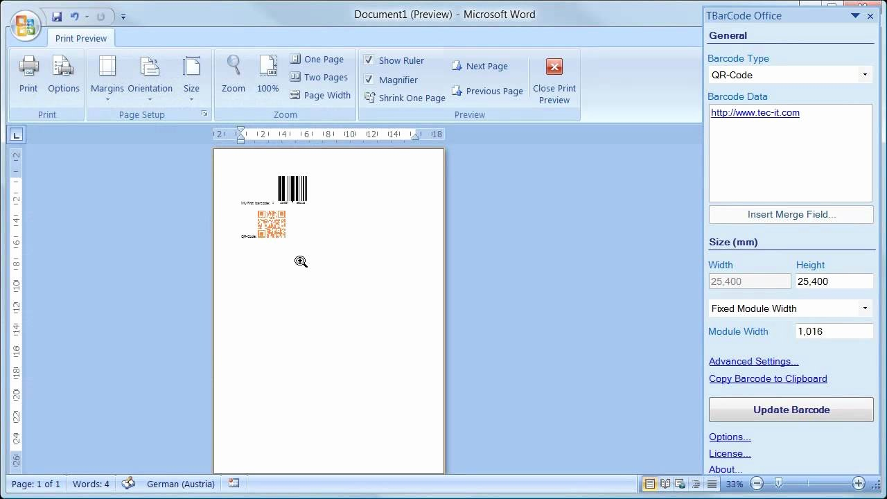 Making A form In Word Beautiful Barcode Add In for Microsoft Word All Versions