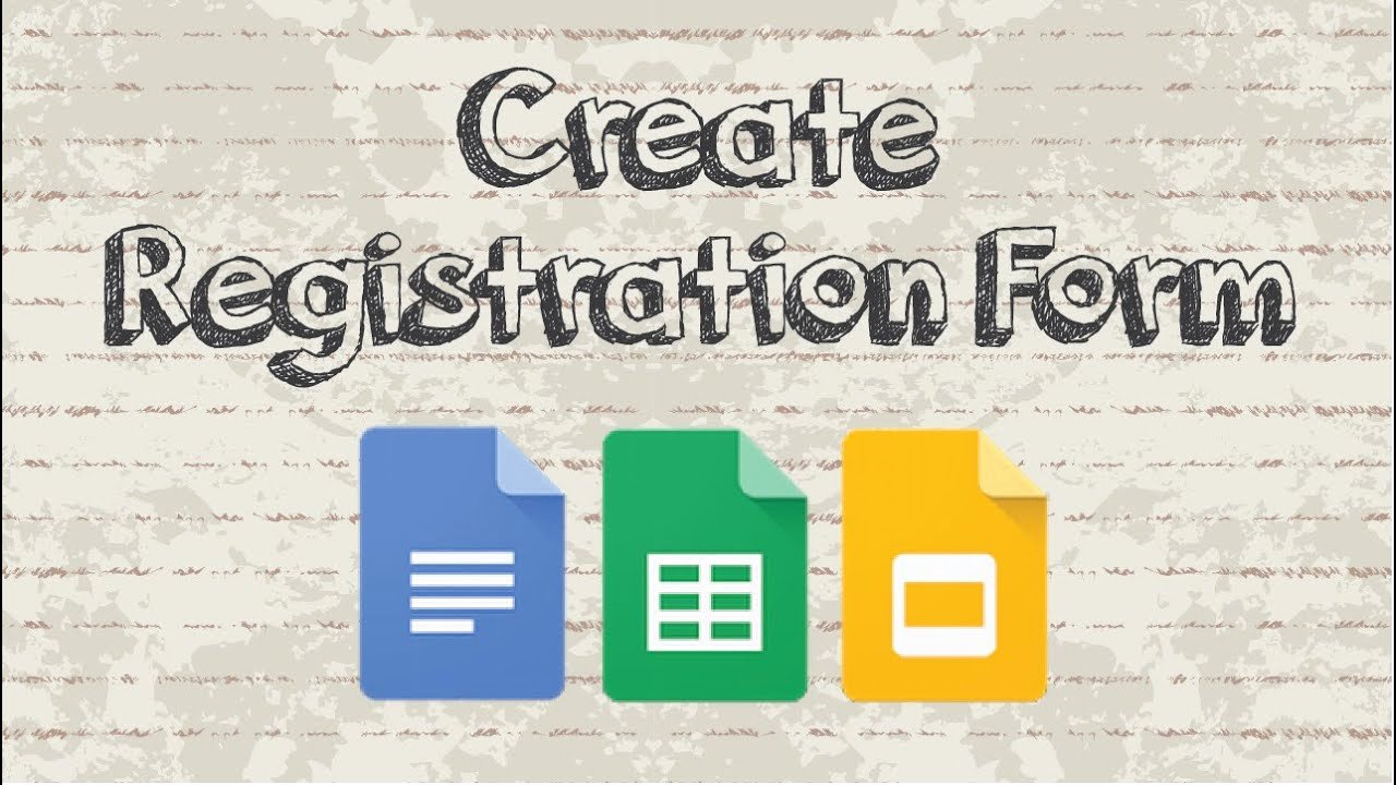 Making A form In Word Elegant How to Create A Registration form with Google Docs
