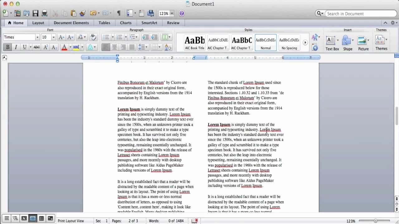 Making A form In Word Fresh How to Create Columns In Microsoft Word