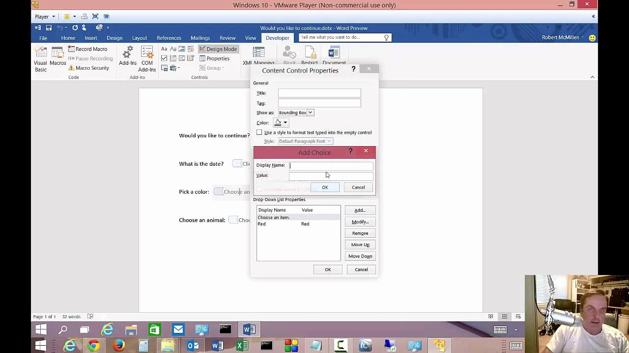 Making A form In Word Fresh How to Create Fillable forms In Microsoft Word 2016