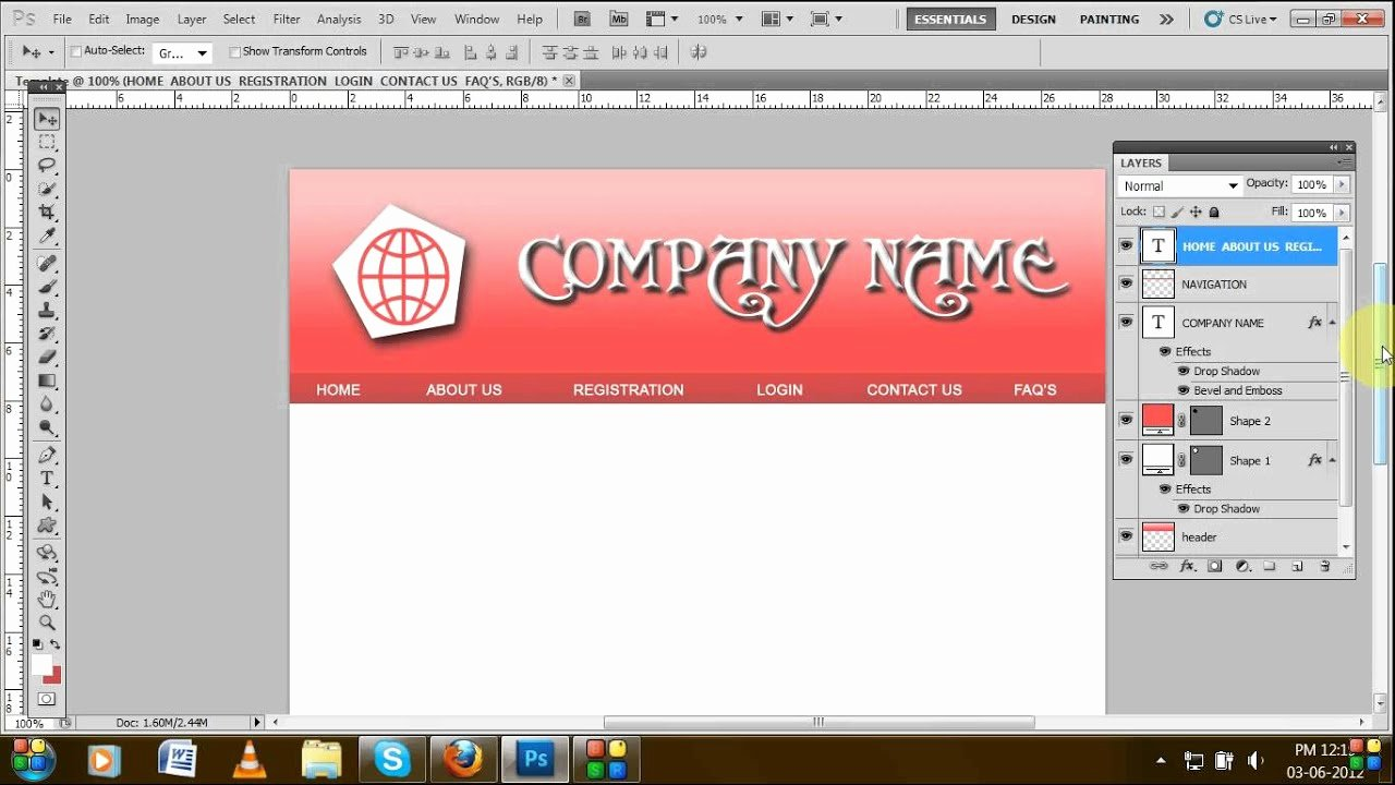 Making form In Word Fresh How to Create Template Using Adobe Shop Tutorial for