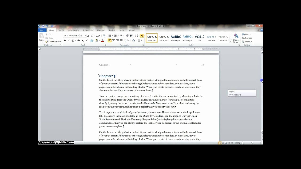 Making form In Word Fresh How to Make A Manual In Word 2010