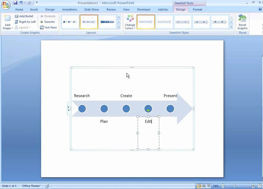 Making form In Word New Fice 2007 Demo Create A Timeline