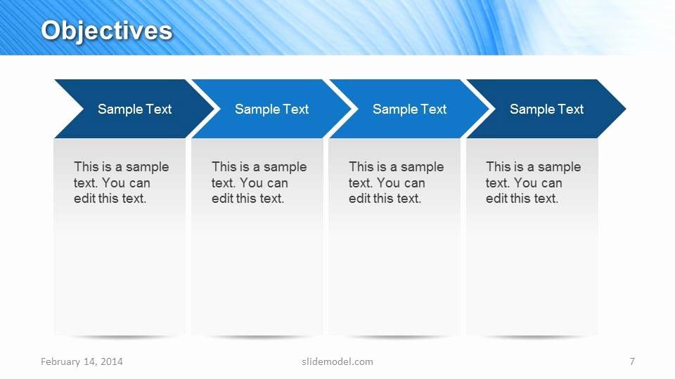 Marketing Plan Powerpoint Template Inspirational Blue Marketing Plan Template for Powerpoint Slidemodel