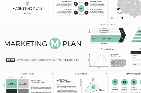 Marketing Plan Powerpoint Template Lovely Marketing Plan Powerpoint Template Presentation