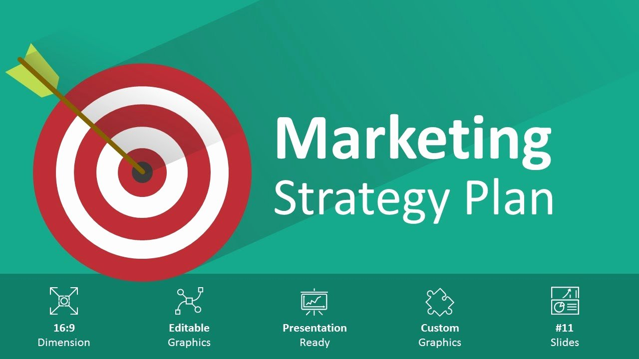 Marketing Plan Powerpoint Template Lovely Marketing Strategy Plan Editable Powerpoint