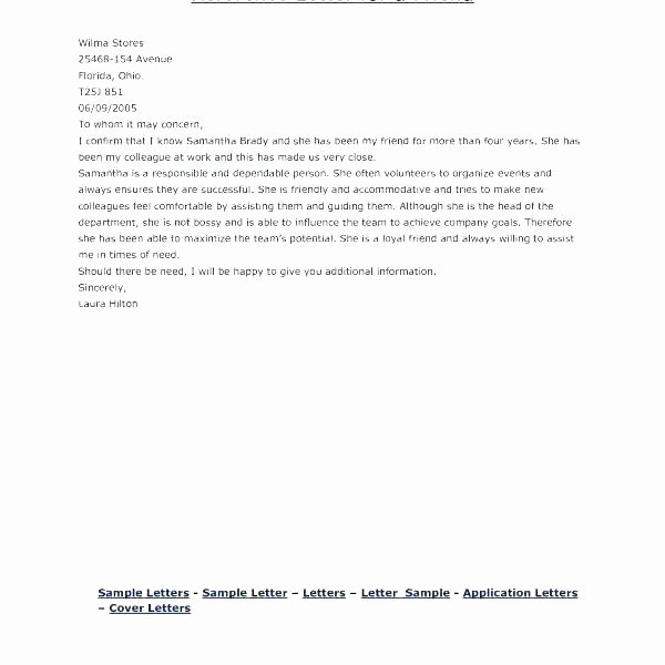 Marriage Letter for Immigration Sample Inspirational Immigration Reference Letter Samples Immigration Reference