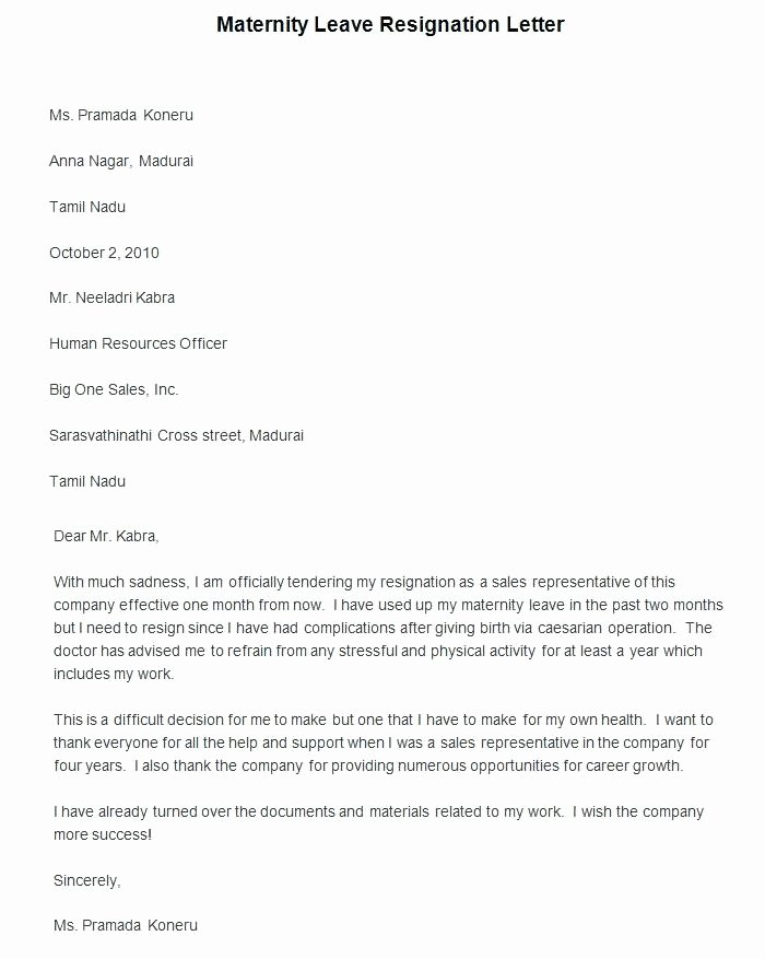 Maternity Leave Plan Template Elegant Delivery Request Letter Sample for Cancellation Ex
