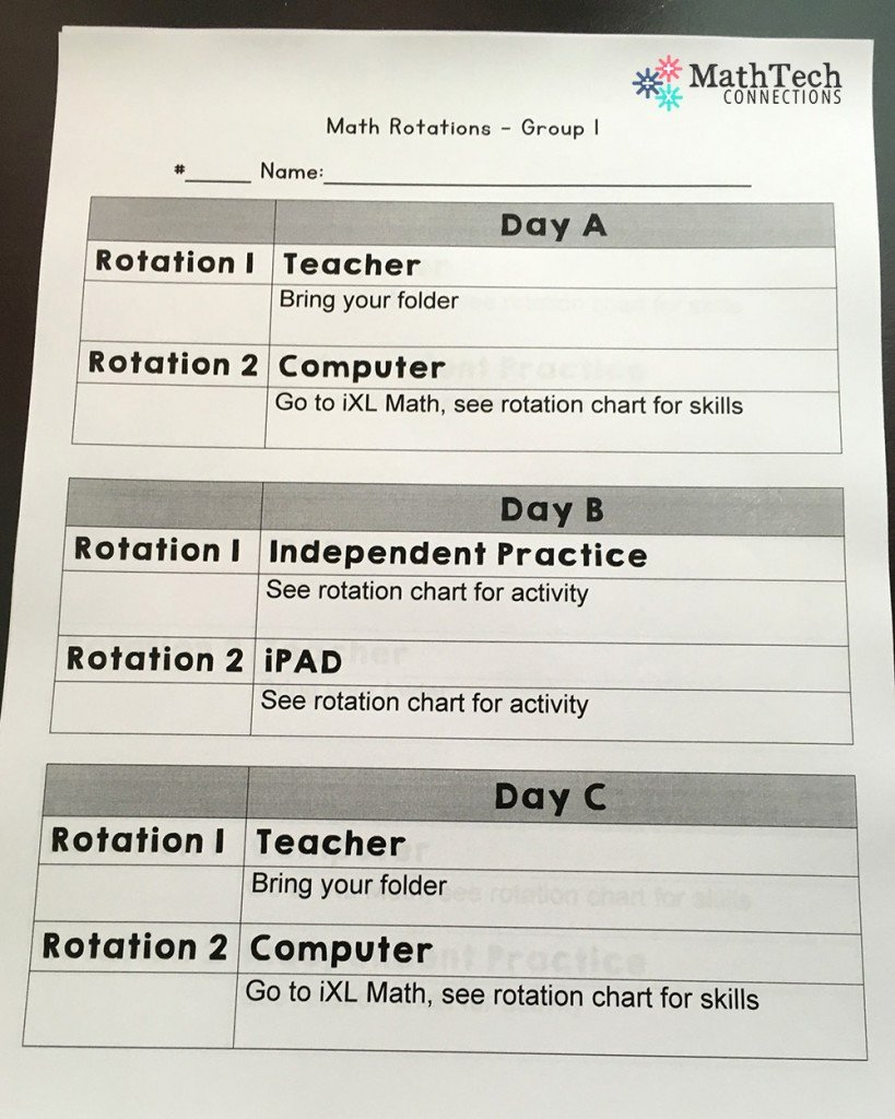 Math Lesson Plan Template Best Of How to Plan & organize Differentiated Math Groups