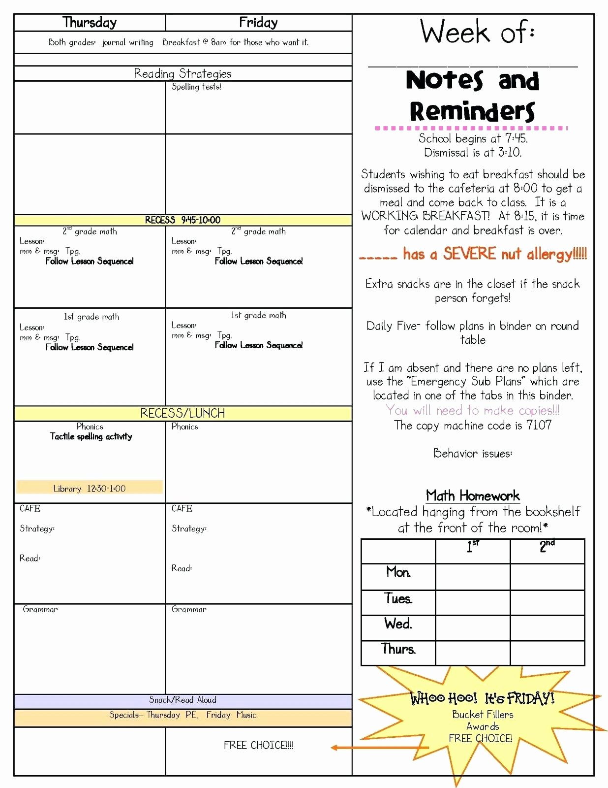 Math Lesson Plan Template Luxury First Grade Math Lesson Plans Addition