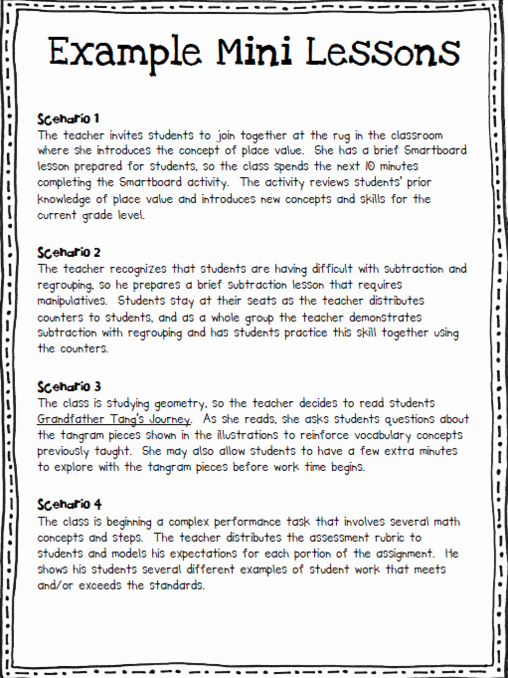 Math Workshop Lesson Plan Template Best Of Math Workshop In the Elementary Classroom ashleigh S