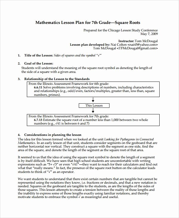 Math Workshop Lesson Plan Template Luxury Lesson Plan Template Math Workshop Mini Lesson Plan