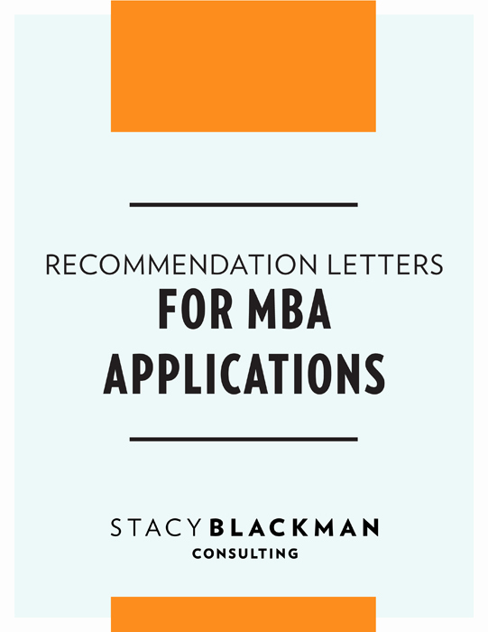 Mba Letter Of Recommendation Sample Best Of Mba Application Re Mendation Guide