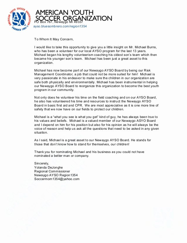 Mba Recommendation Letter Examples Fresh Reference Letter Munity Ayso