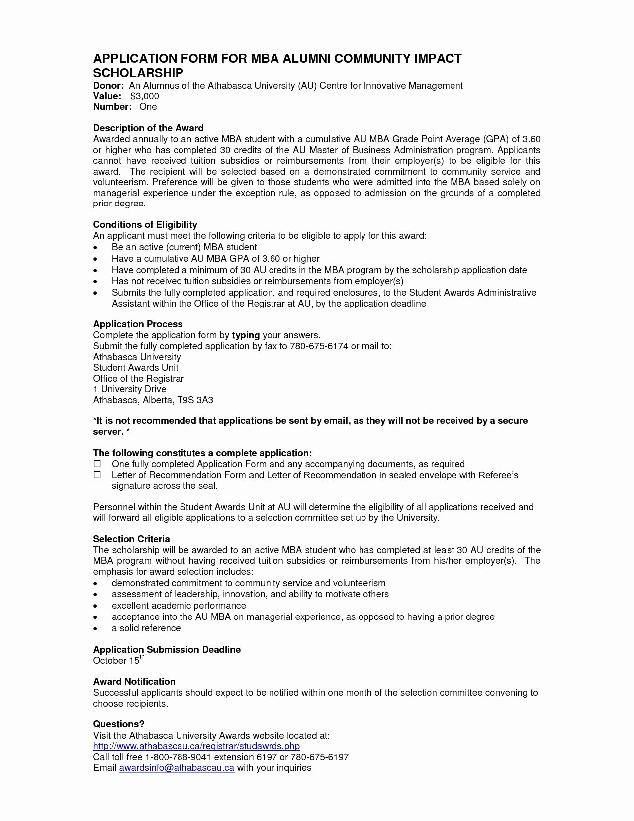 Mba Recommendation Letter Tips New Alumni Letter Re Mendation Template Download