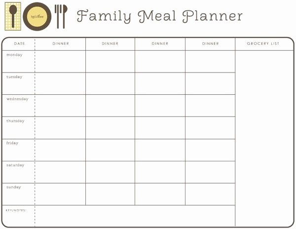 Meal Plan Calendar Template Lovely Best 25 Weekly Dinner Planner Ideas On Pinterest