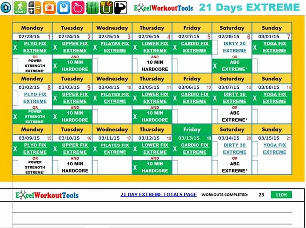 Meal Plan Template Excel Beautiful 21 Day Fix Meal Plan Template Excel