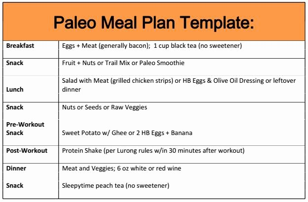 Meal Plan Template Word Luxury Pale Oh Dear What Did I Get Myself Into