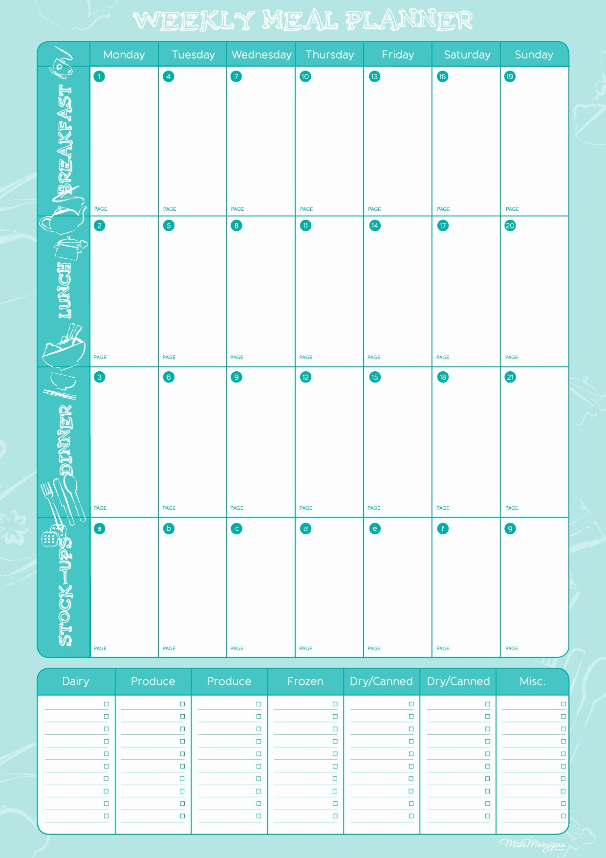 "Meal Plan Weekly Template Fresh About to Board the ""i Quit Sugar"" Train for the 8 Week"