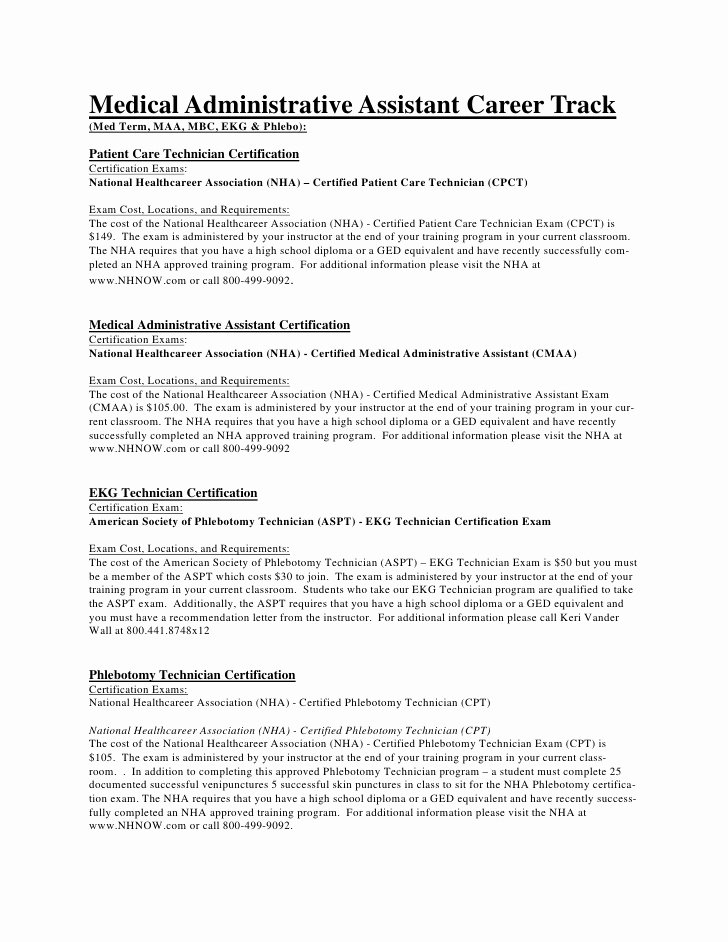 medical assistant career track