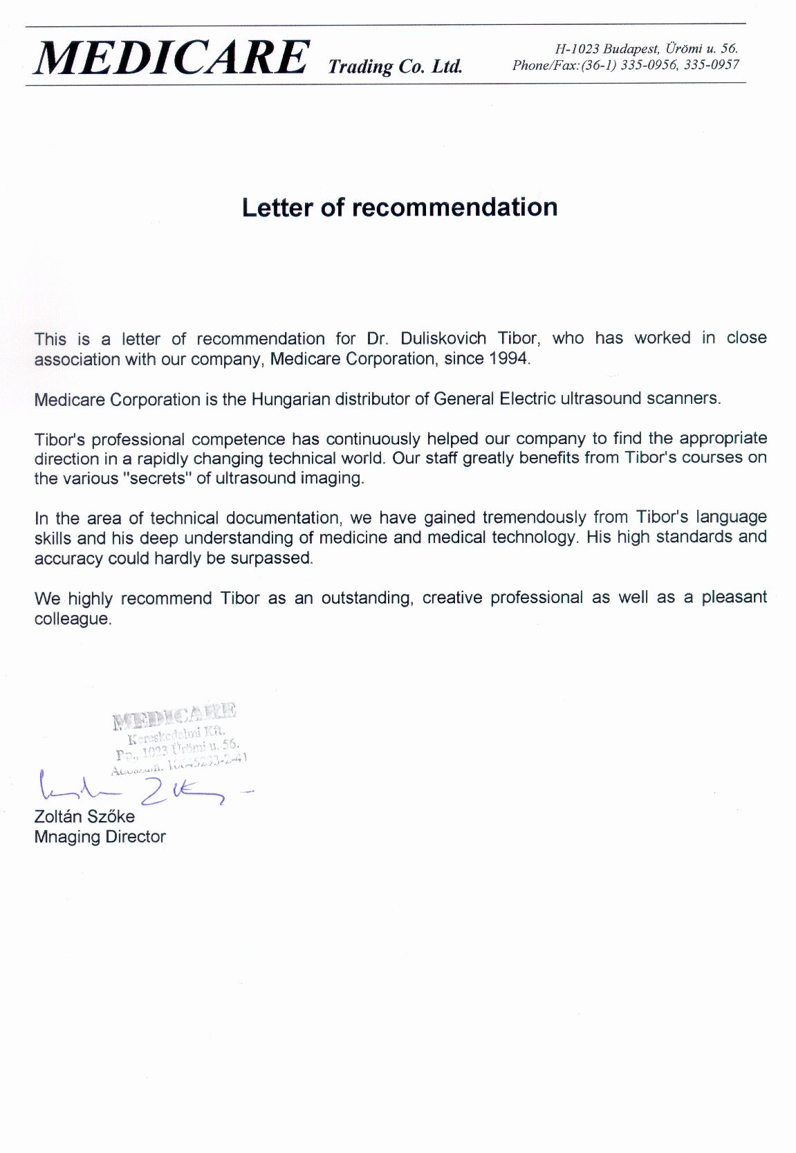 Medical assistant Letter Of Recommendation Best Of Letter Of Re Mendation Medical assistant
