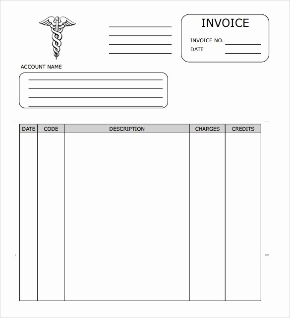 Medical Bill Template Pdf Elegant Sample Medical Invoice Template 16 Free Download In Pdf