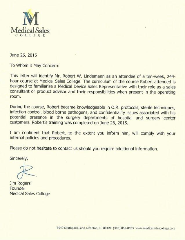 Medical Letter Of Recommendation Inspirational Letter Of Re Mendation Jim Rogers Ceo Medical Sales
