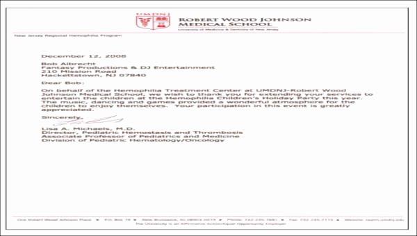 Medical School Recommendation Letter Inspirational 8 Sample Medical School Re Mendation Letters