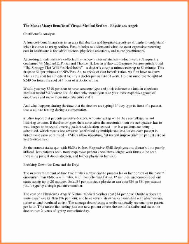 Medical Scribe Cover Letter Example Unique Medical Scribe Resume Resume Ideas