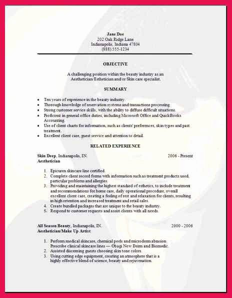 Medical Scribe Cover Letter No Experience Fresh Esthetician Resume Templates