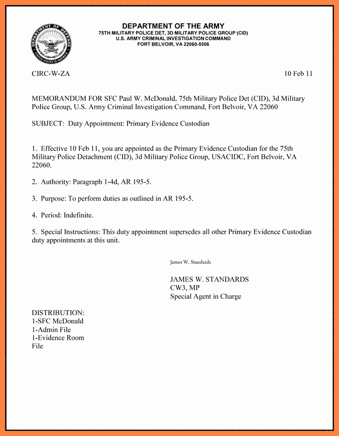 Memo for Record Template Unique 10 Department Of the Air force Letterhead Template