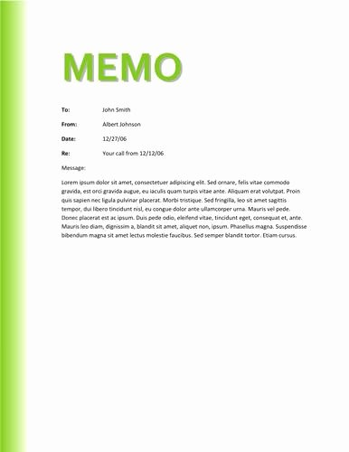 Memorandum Template Word 2010 Beautiful Memo Template