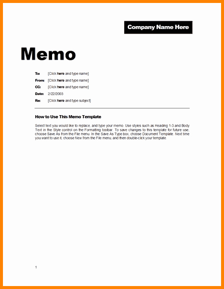 Memorandum Template Word 2010 Best Of 9 Microsoft Memo Template