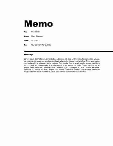 Memorandum Template Word 2010 Lovely Memo format [bonus 48 Memo Templates]