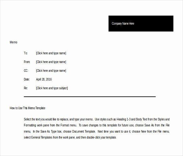 Memorandum Template Word 2010 Unique 10 Memo Templates Microsoft Word 2010 Free Download