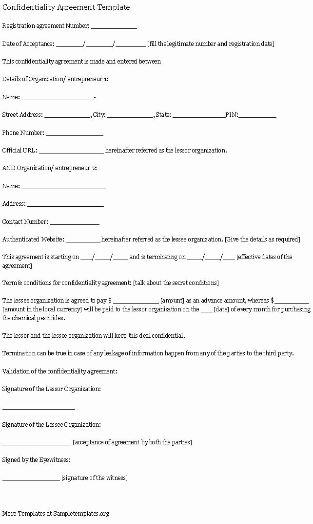 Mental Health Confidentiality Agreement Template Best Of 17 Best Images About Professional organising On Pinterest