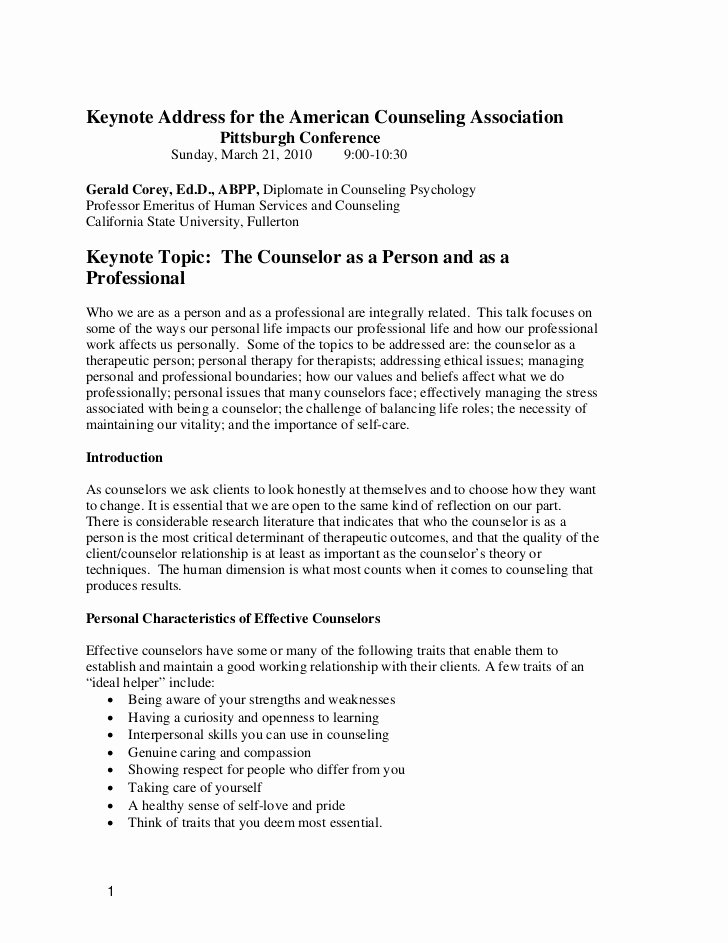 Mental Health Confidentiality Agreement Template Lovely Counselor as Person and Professionals
