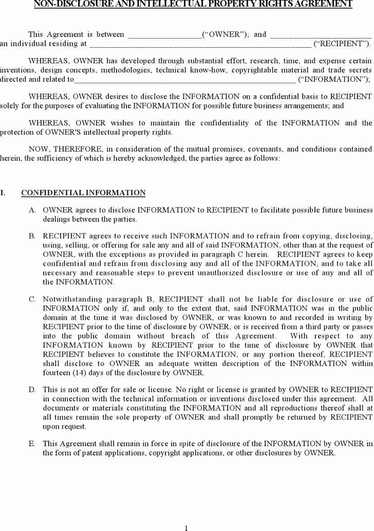 Mental Health Confidentiality Agreement Template Lovely Inspirational Mental Health Confidentiality Agreement
