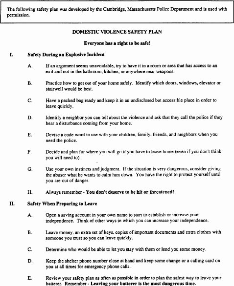 Mental Health Crisis Plan Template New Mental Health Safety Plan Template