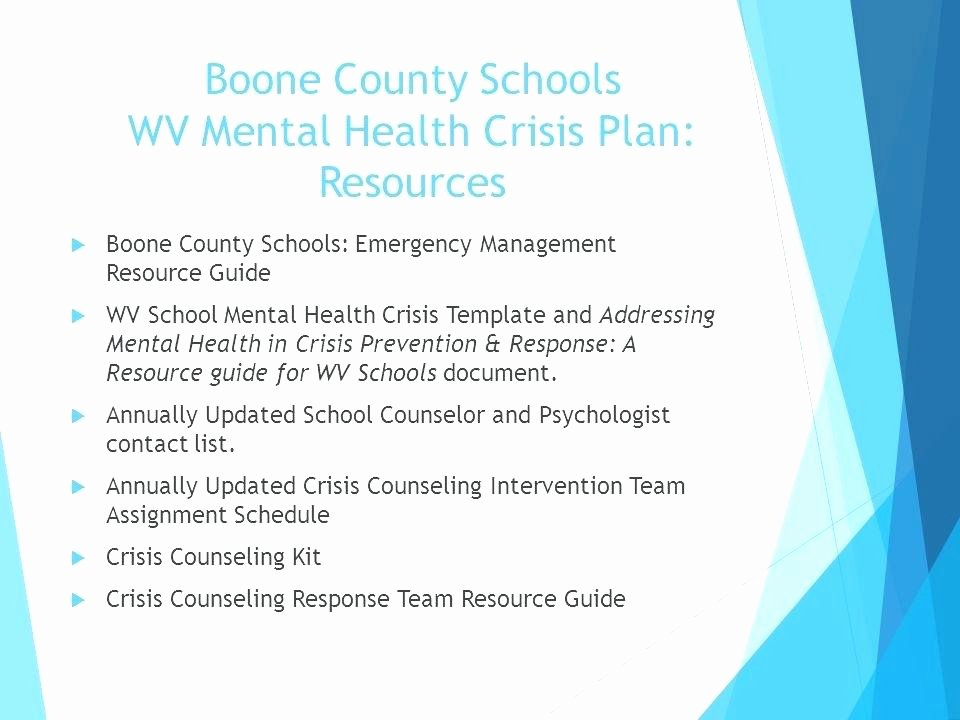 crisis management plan example template mental health pdf business construction man
