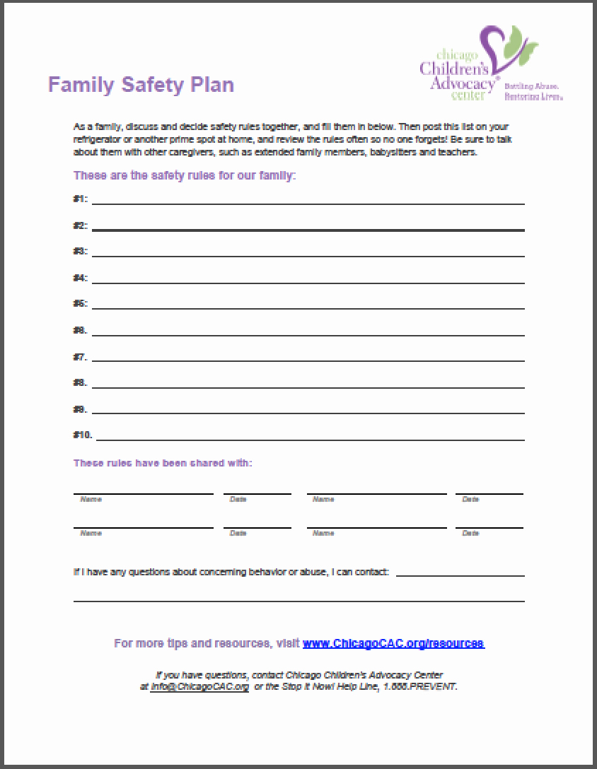Mental Health Safety Plan Template Elegant Safety Plan Template for Students School Action Plan