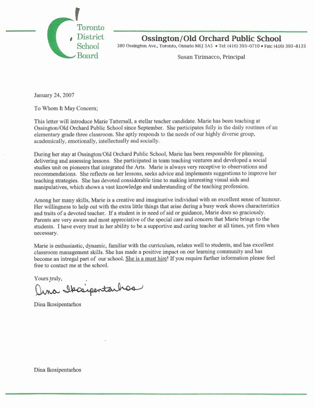 Mentoring Letter Of Recommendation Unique Reference Letter Mentor Teacher Ooops