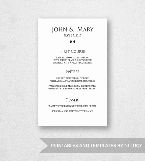 Menu Template Free Word Fresh Menu Templates – 32 Free Psd Eps Ai Indesign Word